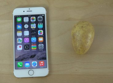 Video – Un tip compara iPhone 6 cu un … cartof